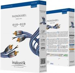 Кабель Inakustik Premium Phono RCA-RCA 1.5 м (405115)