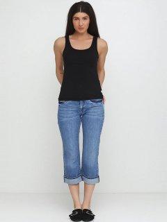 Капри джинсовые HIS HS541967 46 Синие (HS541967-46)