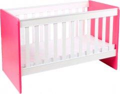 Детская кроватка Ommi Color Малиновая (303673) (2000181215017)