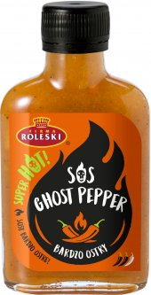 Соус Roleski Ghost Pepper острый перечный 115 г (5901044021196)