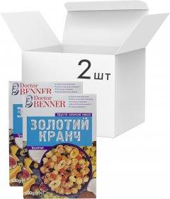 Упаковка золотых кранчей Doctor Benner Тропических 400 г х 2 шт (23029800170)