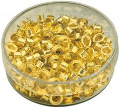 Заклепки (люверсы) Agent 4.8 мм для ручного заклепочника Золотые 200 шт (6927920200614)