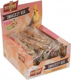 Лакомство для нимф Vitapol Smakers Box с фруктами 12 шт (5904479132338)