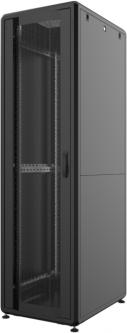 """Шкаф напольный Mirsan GTS 19"""" 46U 600x1000, RAL 9005 Черный (MR.GTS46U61DE.01)"""
