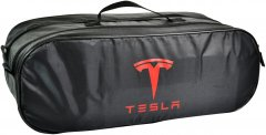 Сумка-органайзер в багажник Тесла черная размер 50 х 18 х 18 см (03-049-2Д)