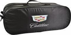 Сумка-органайзер в багажник Кадиллак черная размер 50 х 18 х 18 см (03-055-2Д)