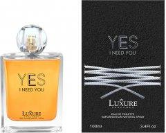 Парфюмированная вода для мужчин Luxury Yes I Need You 100 мл (5907709921832)