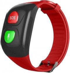 Смарт-часы GOGPS ME М03 Black-Red (M03RD)