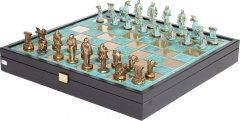 Шахматы Manopoulos Архаический период в деревянном футляре 34 х 34 см 5 кг (SK24BTIR)