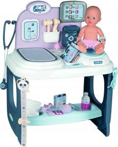 Игровой центр Smoby Toys Уход за куклой со звуковыми эффектами и аксессуарами (240300)