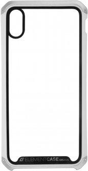 Панель ArmorStandart Element Case для Apple iPhone Xs Max Transparent White/Silver (ARM53420)