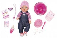 Кукла Baby Born серии Нежные объятия Джинсовый лук 43 см с аксессуарами (831298)