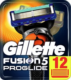 Сменные картриджи для бритья (лезвия) мужские Gillette Fusion5 ProGlide 12 шт (7702018085934)