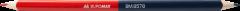 Набор карандашей двусторонних Buromax R&B Красно-синий 12 шт (BM.8578)
