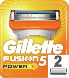Сменные картриджи для бритья (лезвия) мужские Gillette Fusion5 Power 2 шт (7702018877560)