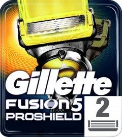 Сменные картриджи для бритья (лезвия) мужские Gillette Fusion5 ProShield 2 шт (7702018412303)
