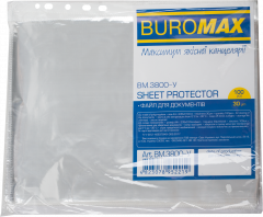 Файлы Buromax Jobmax для документов А4+ 30 мкм глянцевые Прозрачные 100 шт (BM.3800-у)