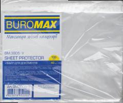 Файлы Buromax Jobmax для документов А4+ 40 мкм глянцевые Прозрачные 100 шт (BM.3805-у)