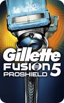 Станок для бритья мужской (Бритва) Gillette Fusion5 ProShield Chill с 1 сменным картриджем (7702018412846)