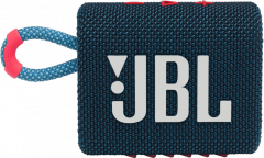 Акустическая система JBL Go 3 Blue Coral (JBLGO3BLUP)