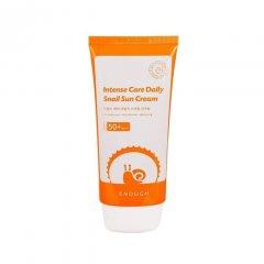 Солнцезащитный крем с муцином улитки Enough Intensive Care Daily Snail Sun Cream SPF 50+ (8809474494894)