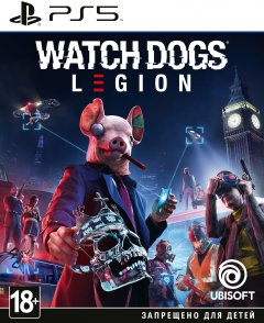 Игра Watch Dogs Legion для PS5 (Blu-ray диск, Russian version)