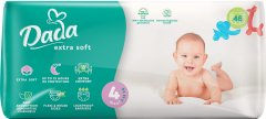 Подгузники для детей Dada Extra Soft 4 7-18 кг 46 шт (4823071646436_4820174980825)