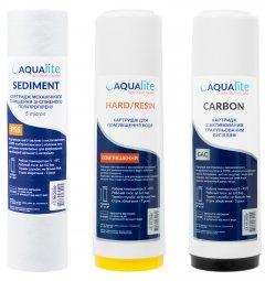 Набор картриджей для проточного фильтра Aqualite TRIO
