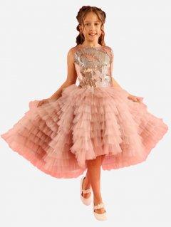 Платье Maya-MI Лебедь 0105-0033-5-4 92 см Пудровое (2925700077283)