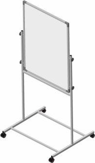 Флипчарт Сектор двусторонний магнитно-маркерный, магнитно-меловой 75 х 100 см (KM-07510)