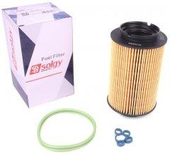 Фильтр топливный Solgy VW Caddy 1.9TDI-2.0SDI (5 болтов) (102025)
