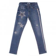 Штани джинсові для дівчинки BREEZE 20159 140 см блакитний (172847)