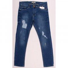 Штани джинсові для дівчинки BREEZE 20125 128 см синій (172748)