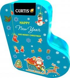 Чай черный Curtis Happy New Year and Merry Christmas ароматизированный листовой 80 г (4823063708357)