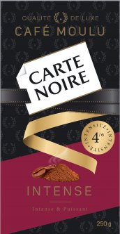 Кофе молотый Carte Noire Intense 100% Арабика 250 г (8714599108079)
