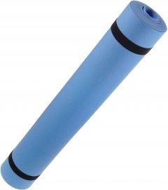 Коврик для йоги Supretto 173 х 61 см Голубой (5816-0001)