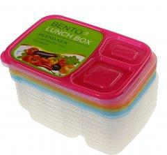 Набор контейнеров для еды Supretto на 3 отделения 7 шт (5820-0001)