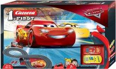 Автотрек Carrera First Disney Pixar Тачки 2.4 м (CR-20063010) (4007486630109)