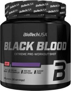 Предтренировочный комплекс BioTech Black Blood CAF+ 300 г Синий виноград (5999076225859)