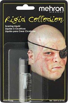 Жидкость для создания шрамов Mehron Rigid Collodion 4 мл (204AC) (764294520407)