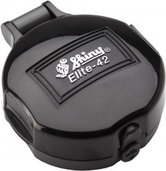 Карманная оснастка для печати d 42 мм Shiny El-42 cо сменной подушкой черный корпус (4710850094208)