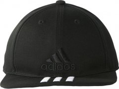 Кепка Adidas 6P 3S Cap Cotto S98156 58-60 Black/Black/White (4057288006336)