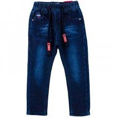 Джинси для хлопчика на флісі TAURUS B03 98 см темно-синій джинс (433377)