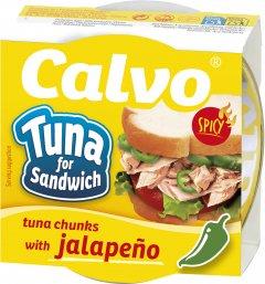 Тунец Calvo для сэндвичей с острым перцем Халапеньо 142 г (8410090031471)