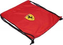Сумка Ferrari 44.5 х 37 см Черно-красная (OBF68)