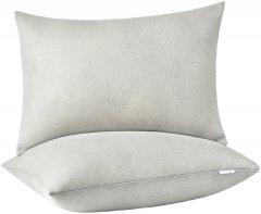 Набор подушек для сна Sei Design Air Therapy антиаллергенных Серых 50х70 2 шт (4820227283408)