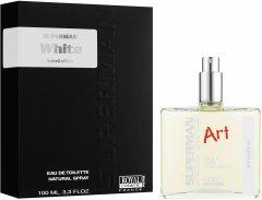 Туалетная вода для мужчин Royal Cosmetic Superman Art White аналог Lacoste L.12.12.Blanc 100 мл (8051277331160)