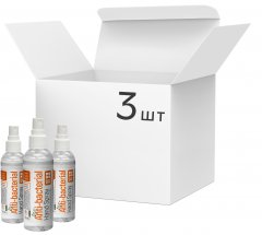 Набор спиртовых антисептиков ColorWay Кокос для дезинфекции рук 100 мл х 3 шт (CW-3917) (4823108606860)