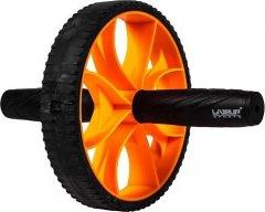 Ролик для пресса LiveUP Exercise Wheel Черно-оранжевый (LS3372)