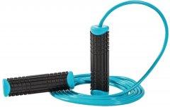Скакалка LivePro PVC Jumprope Голубая (LP8286-b)